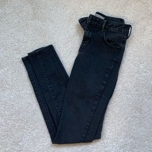 Pacsun Mid Rise Skinniest Jeans in Black